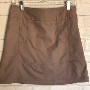 Lija Golf Skirt Shorts Size 4 taupe grey